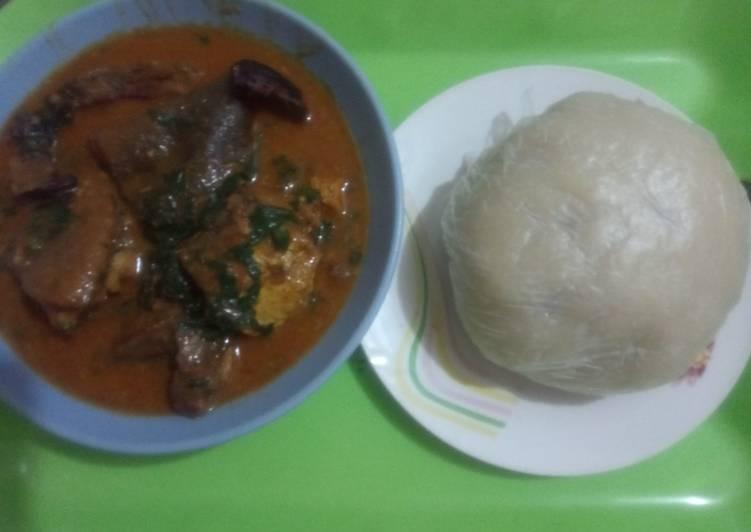 Ogbono Soup with Samvita