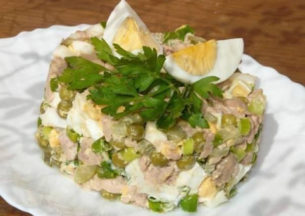 Салат из печени трески - пошаговый рецепт с фото. Автор ...