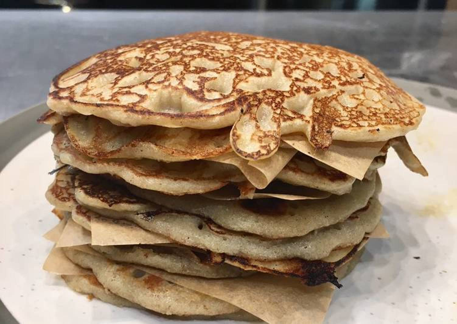 Vegan Buckwheat Flour Pancakes