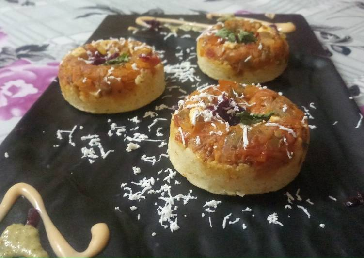 Cheese Chilli Idli Donuts
