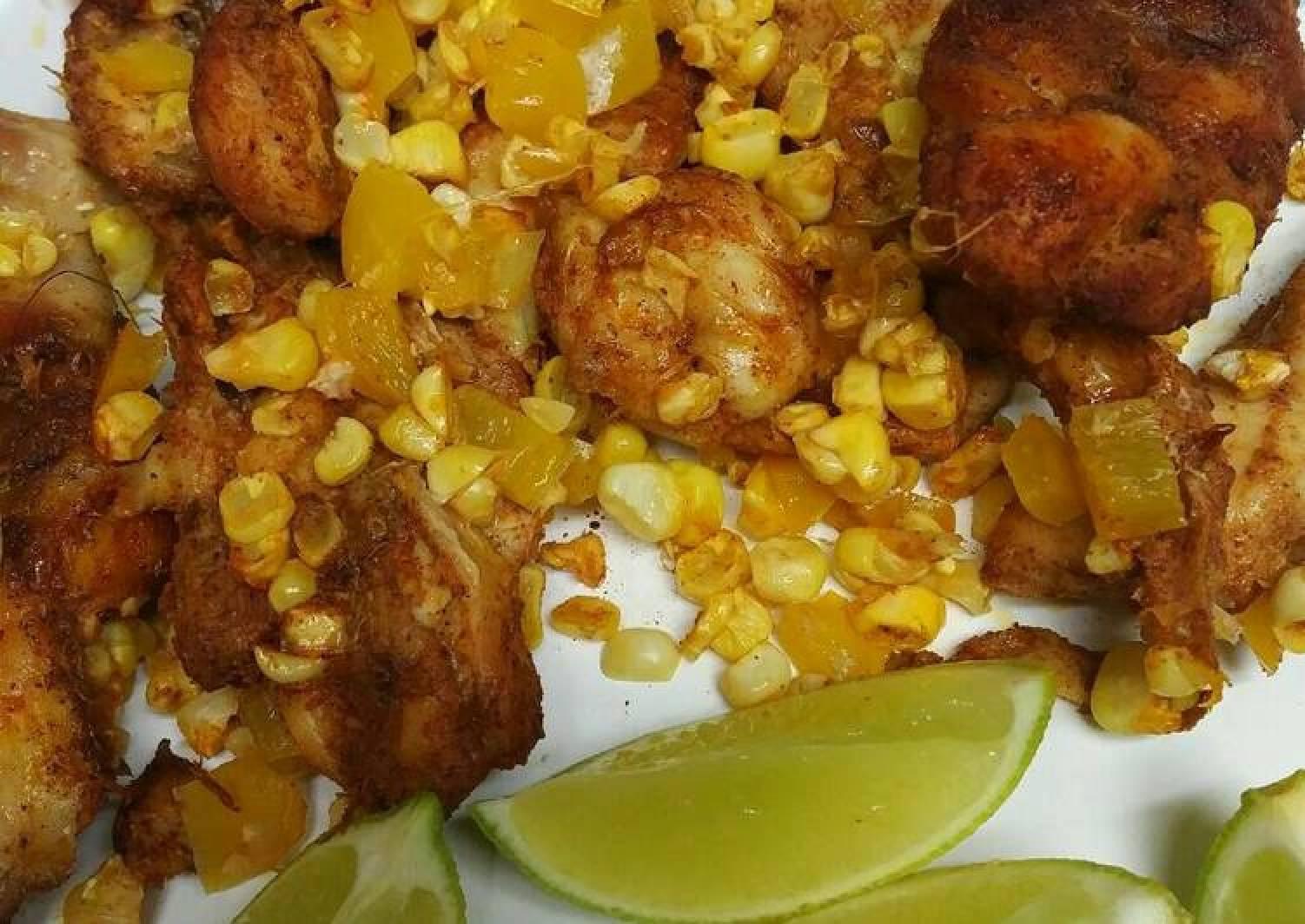 Corn Husk Chicken