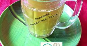 Homemade Sugarcane Juice