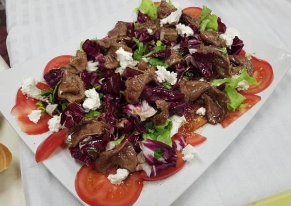 Салат с карпаччо из говядины - пошаговый рецепт с фото ...