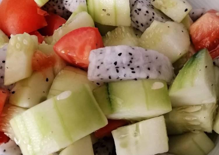 Simple Fruit Vinegar Salad