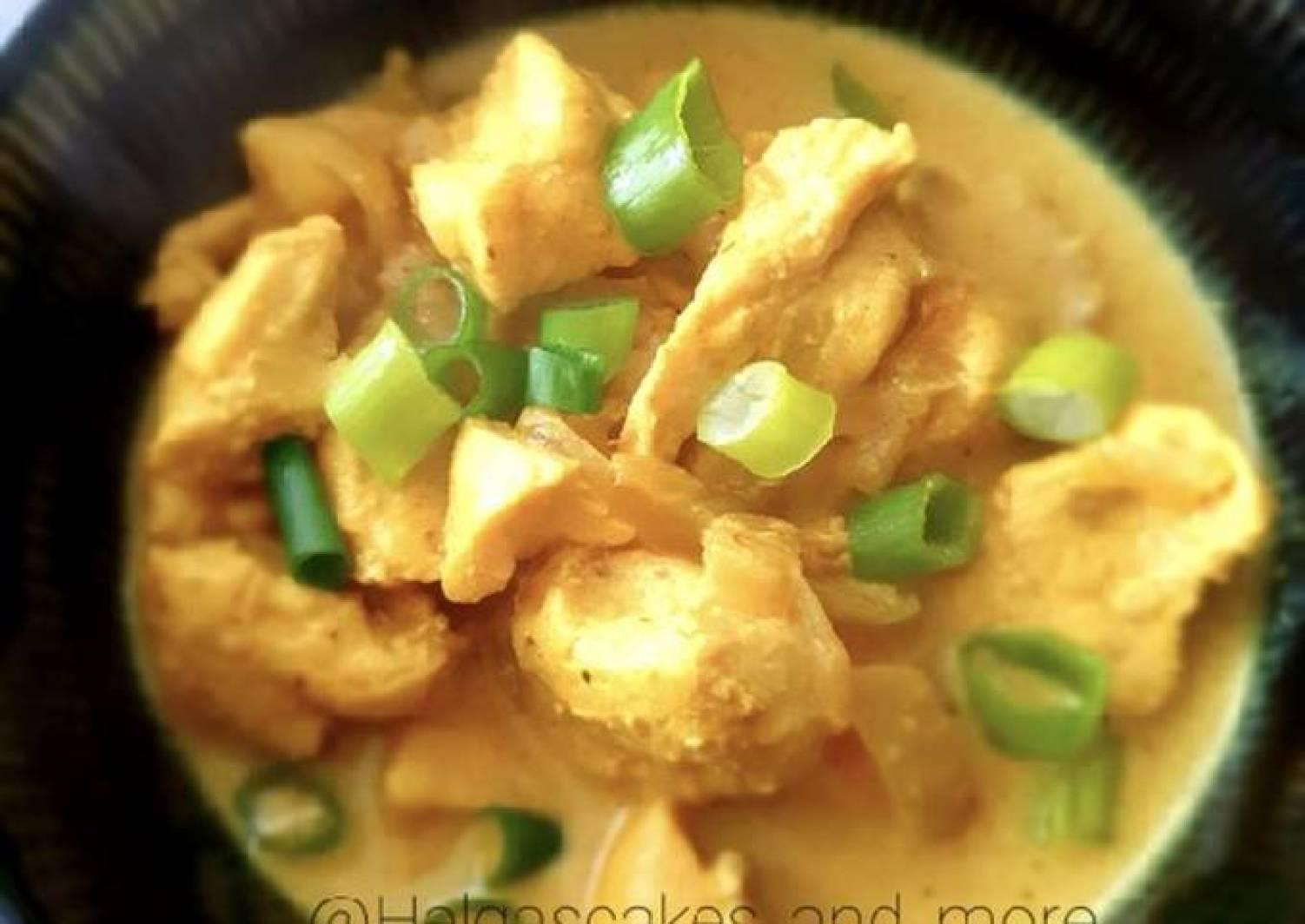 Hähnchenbrustfilets mit Curry