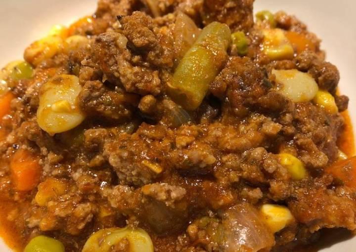 Crockpot Ground Beef 🥩 Stew