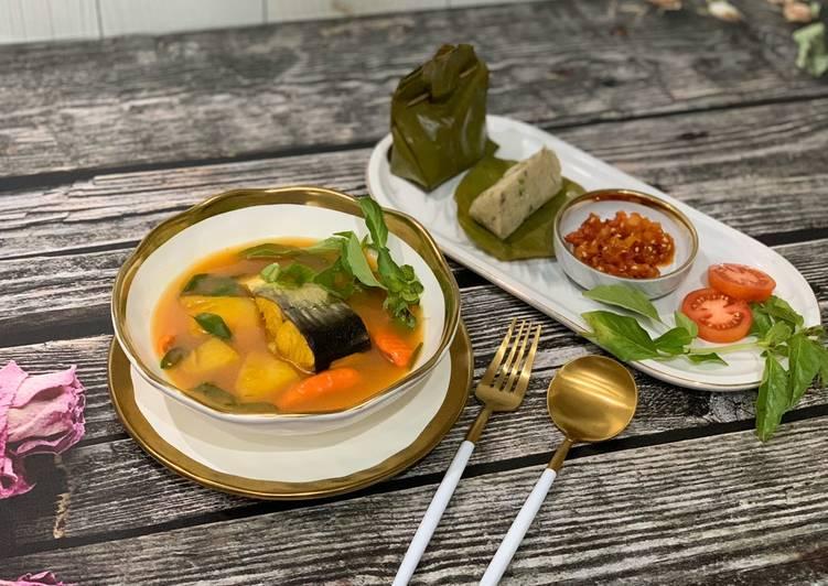 Pindang ikan patin (pindang meranjat)  masakan khas palembang