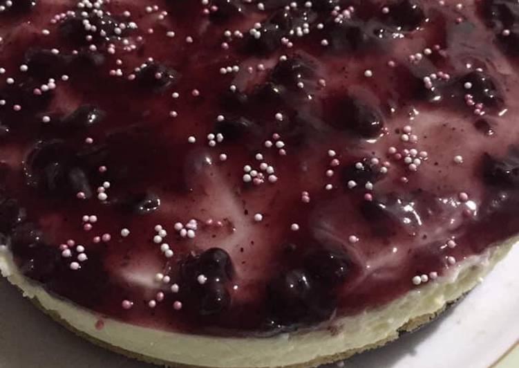 Recipe of Award-winning Blueberry cheesecake
