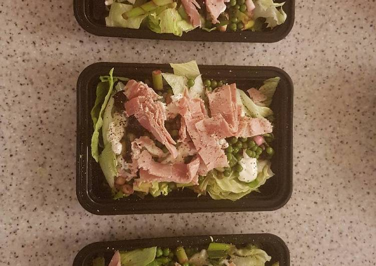 Easiest Way to Prepare Ultimate Pea and Ham Salad