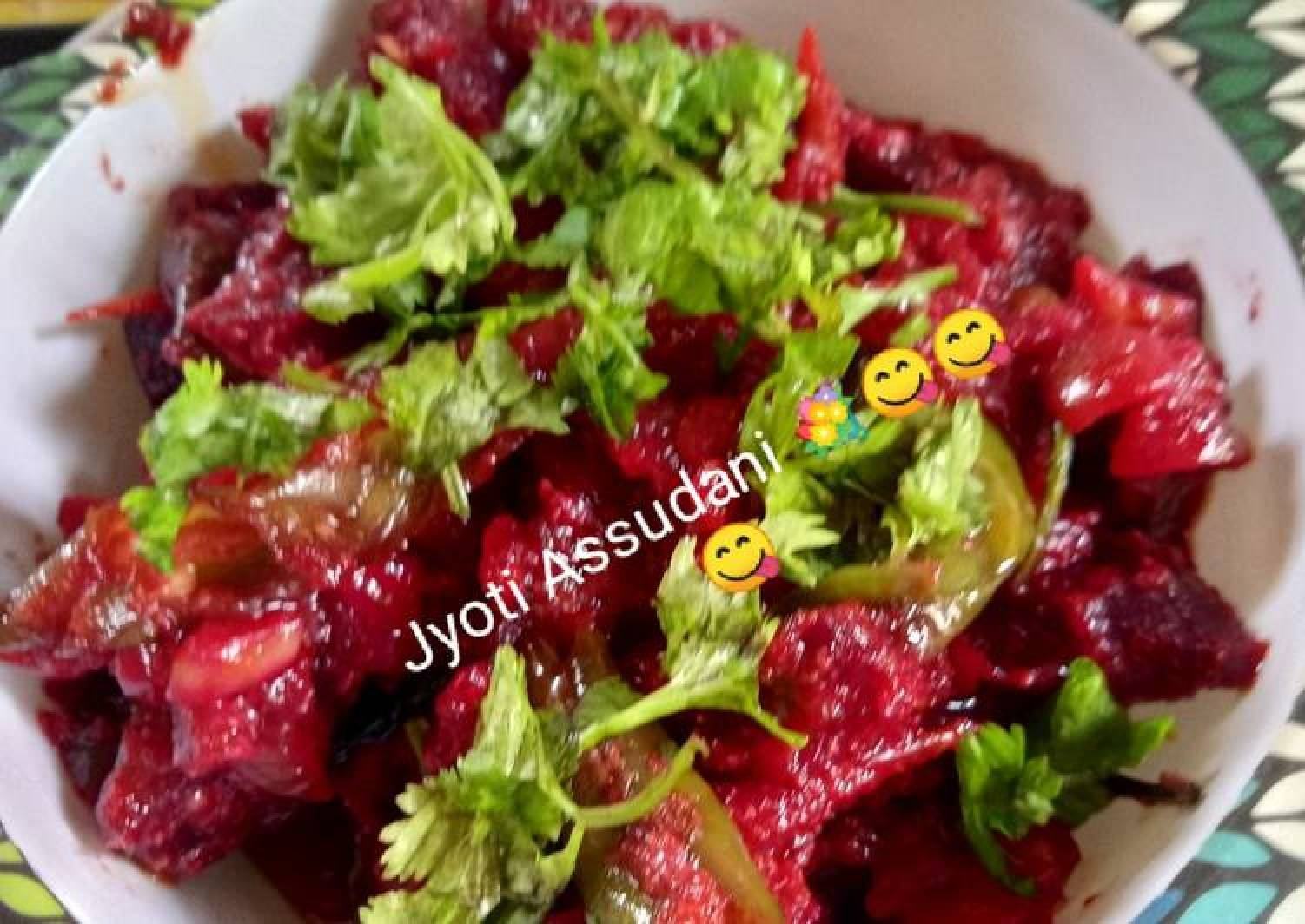 Beet Root Mix Veg Curry