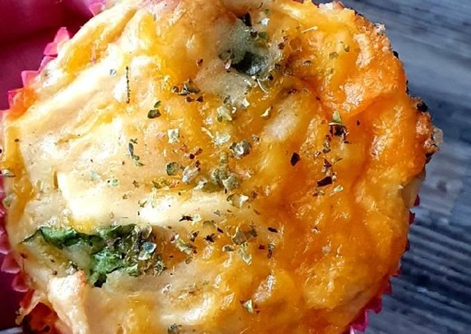 wie man Um Perfekte Hähnchen-Käse-Muffins zuzubereiten