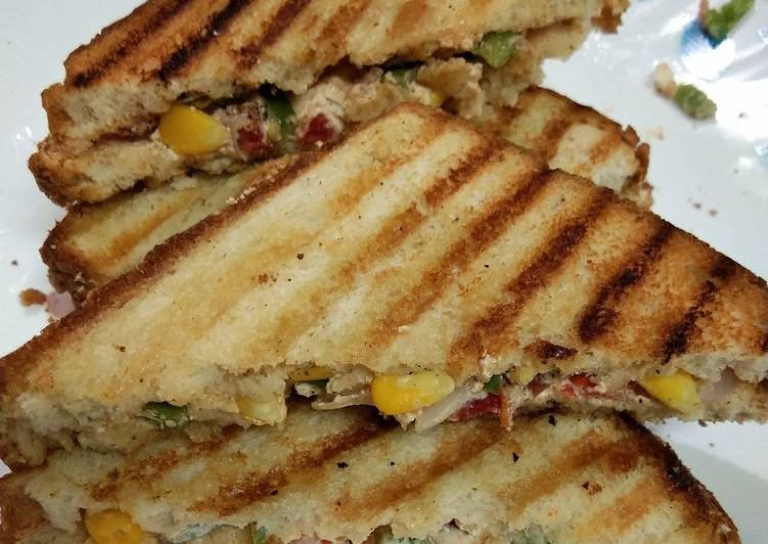 Peri peri grilled sandwich