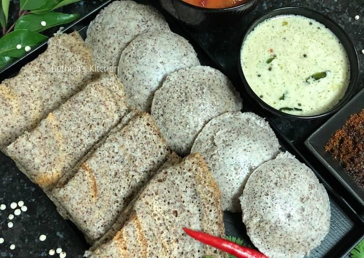 Simple Way to Prepare Super Quick Homemade Jowar Idli-Dosa Combo