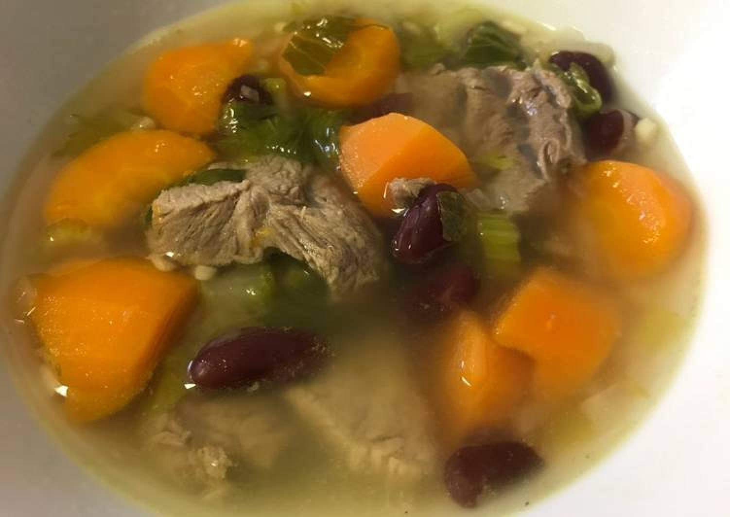 Red Bean and Beef soup