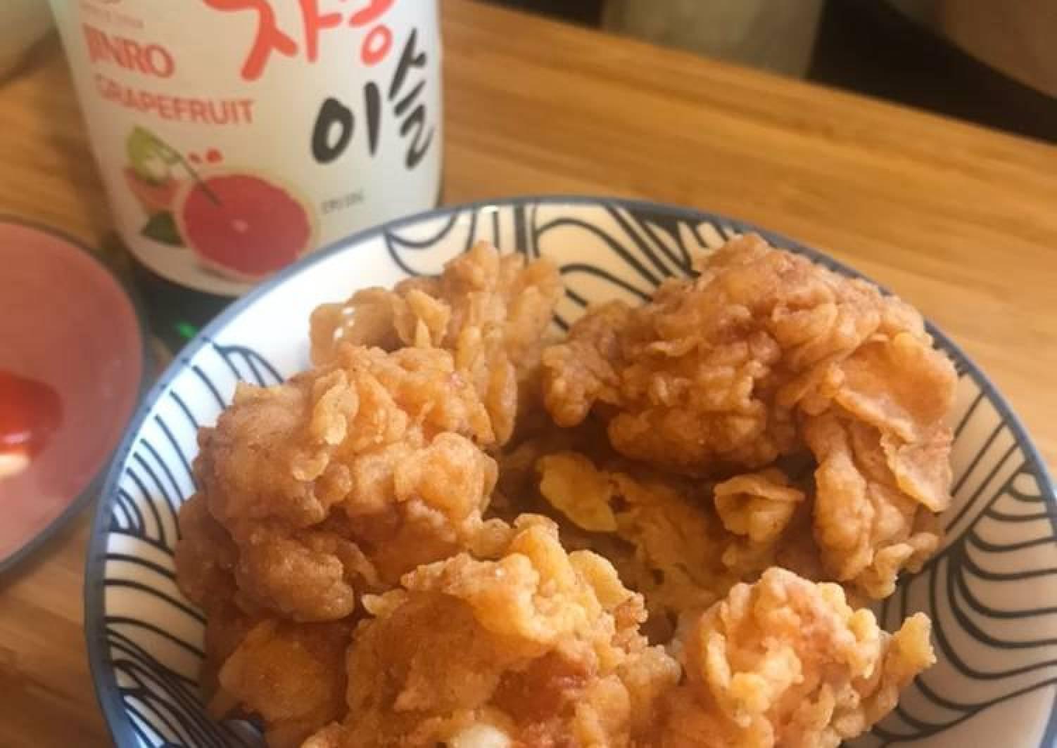 Crunchy spicy Prawn