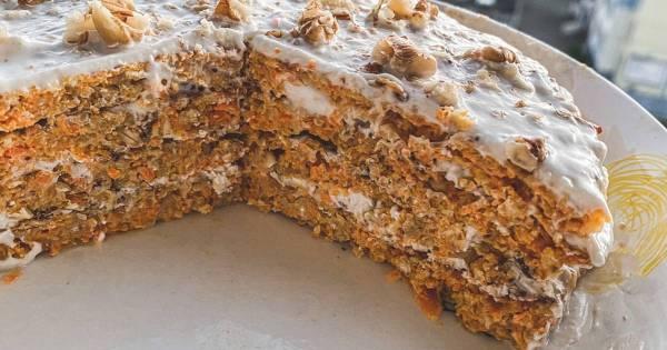 Морковный ПП торт - пошаговый рецепт с фото. Автор рецепта ...
