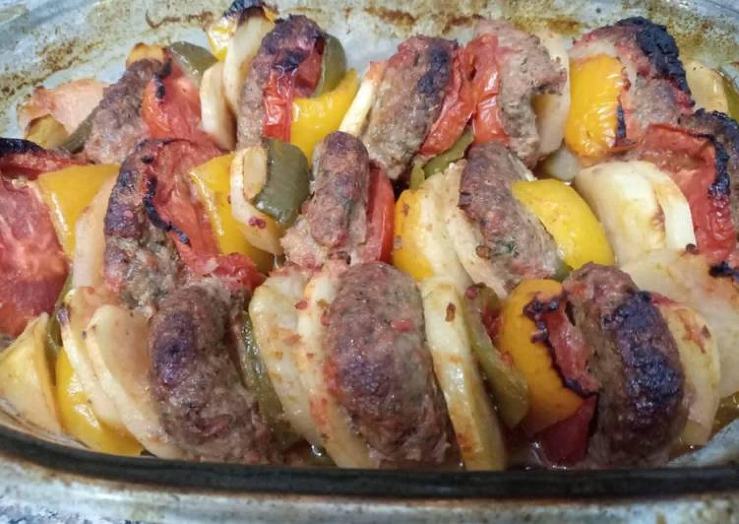 Baked kabab