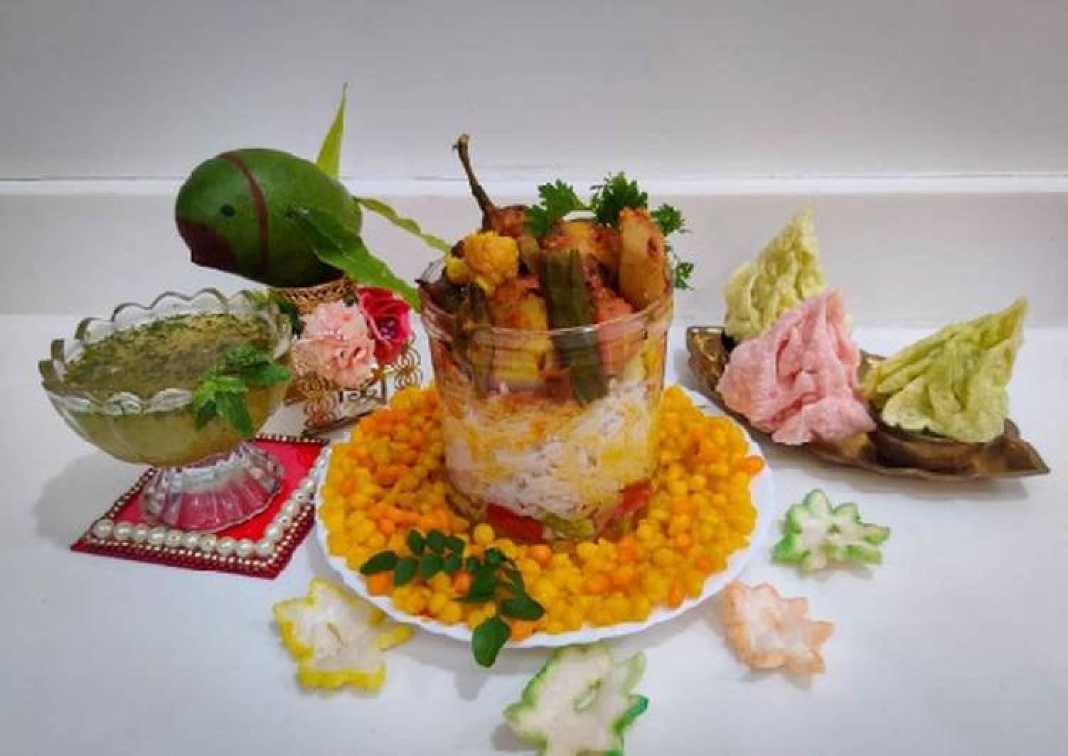 Sindhi special Kadhi Chawal,Sweet Boondi and Kairipanna