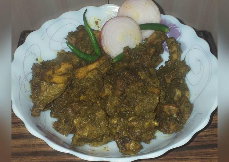 Goan chicken cafreal