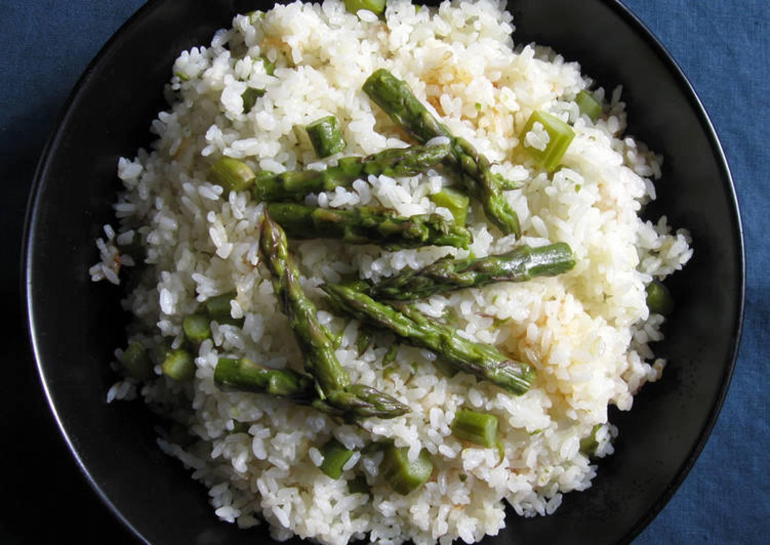 Asparagus Butter Takikomi Gohan