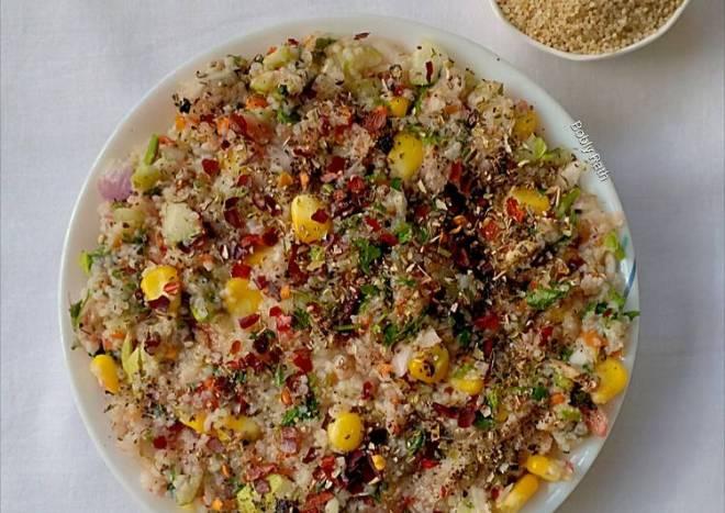 Millet tabbouleh salad