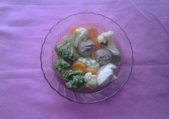 Sup Sayuran Favorit Keluarga