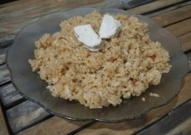 Fried Rice with Oregano