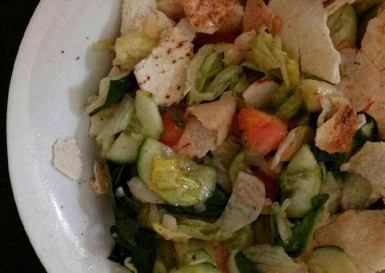 Fattush Salad *Vegan