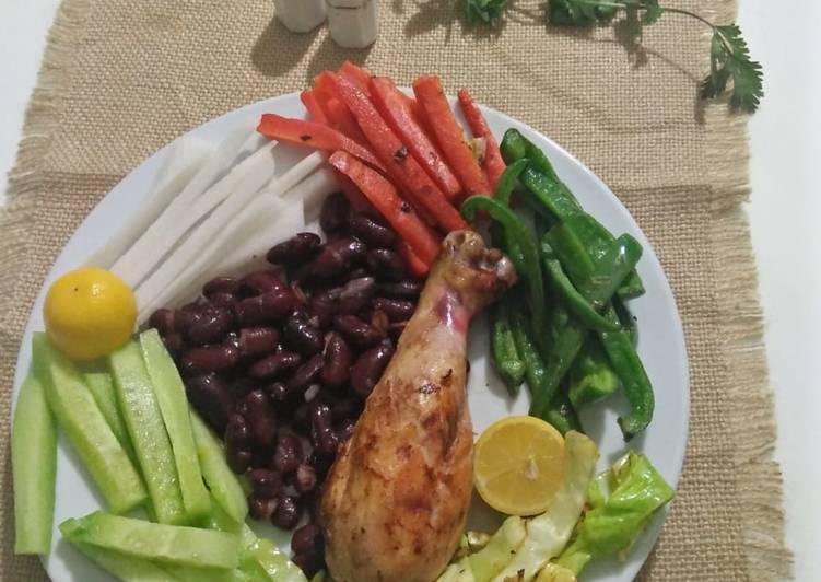 Dieting platter
