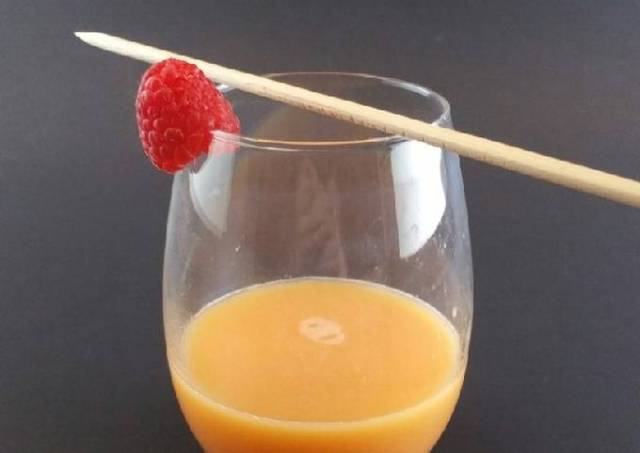 The BEST morning juice mix