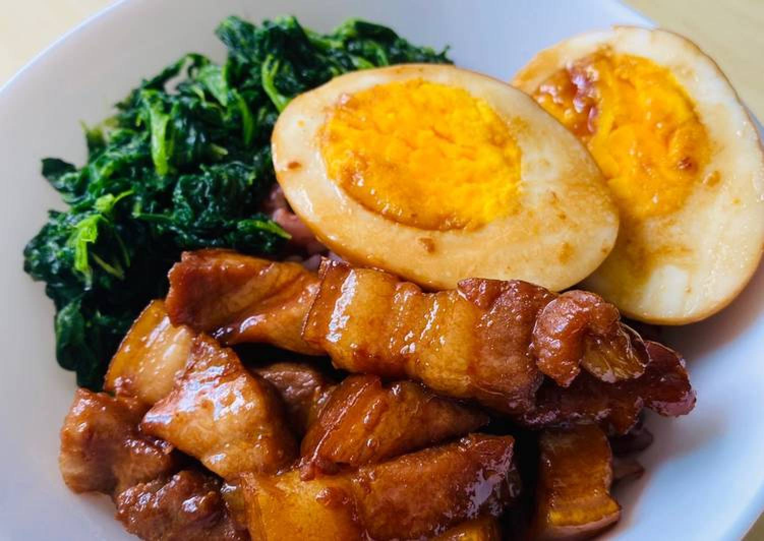 Chinese pork belly rice