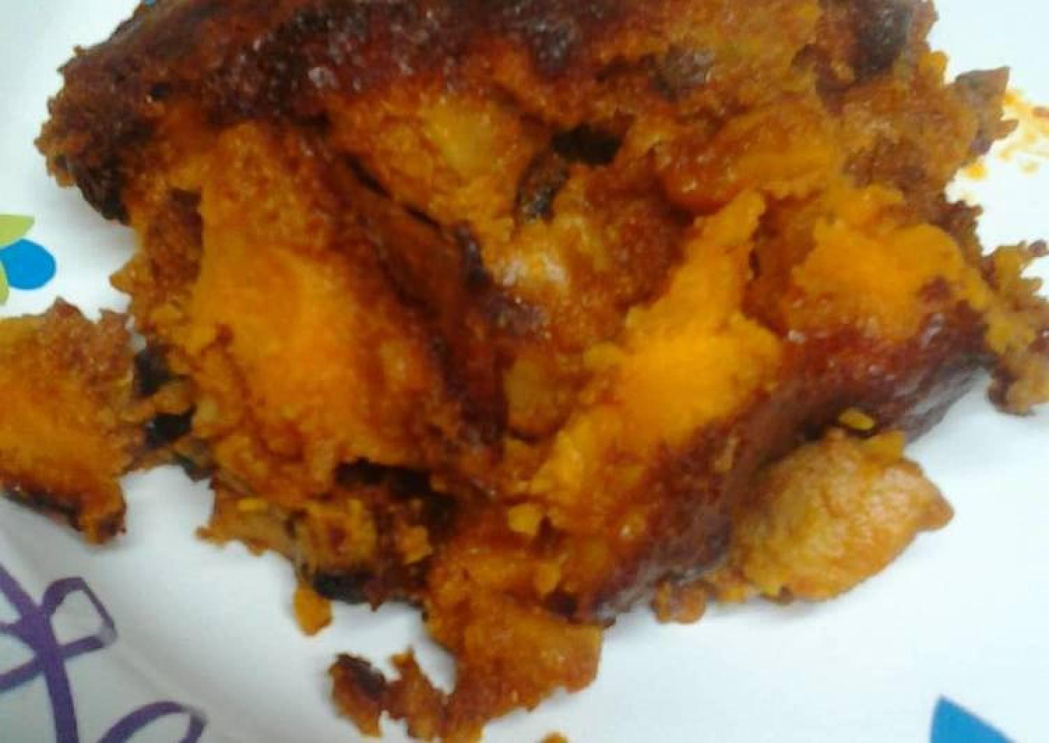 Sweet and spicy chicken casserole