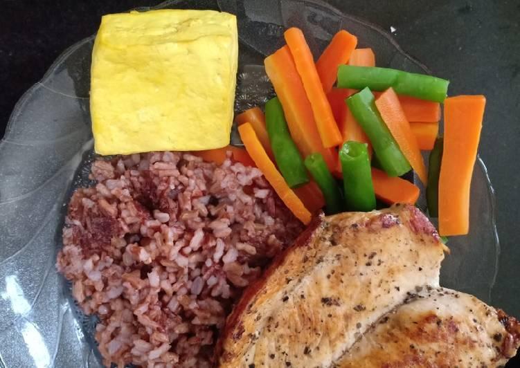 Chicken Steak Veggies Teflon