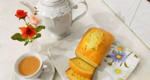 Lemon tea cake without oven without butter