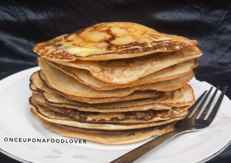 Simple Way to Prepare Ultimate Easy Basic Pancake Recipe (American Pancakes)