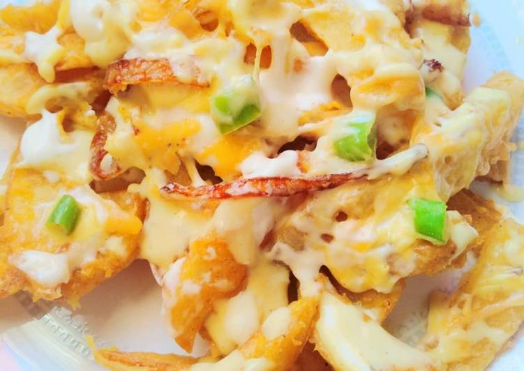 Chillie cheese fries