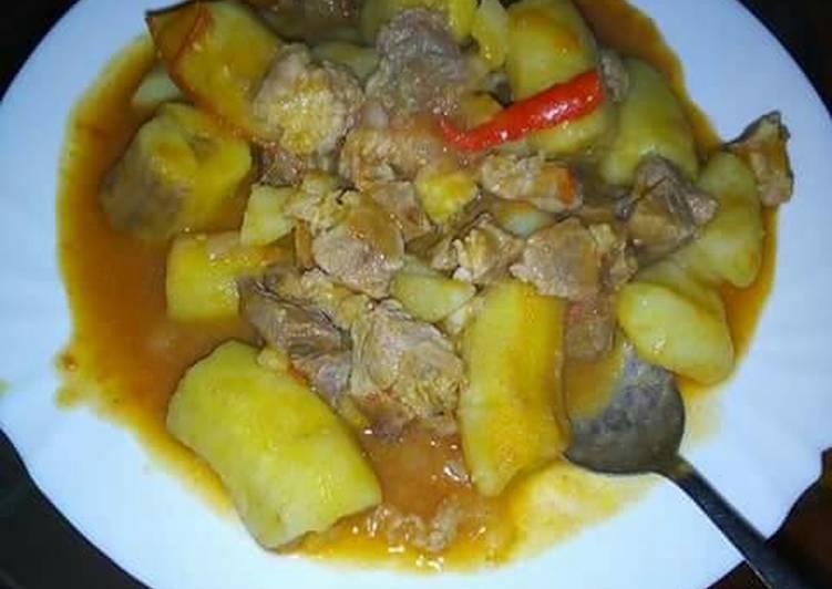 Steps to Prepare Perfect Matoke stew