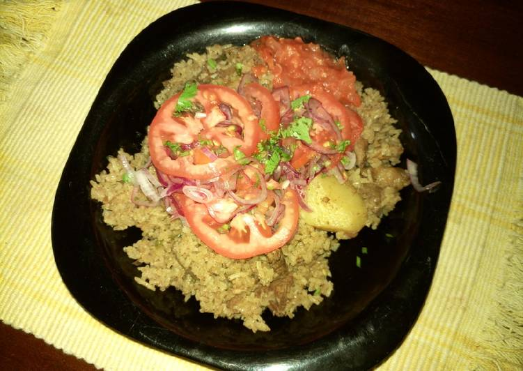 Swahili Beef Pilau(Quick fix)