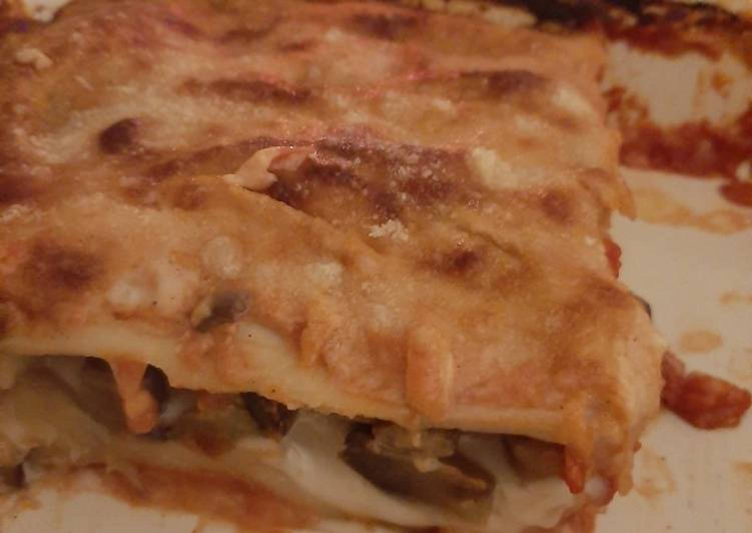 Cannelloni with aubergines