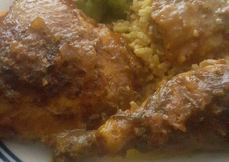 Indian curry chicken vegetable melody