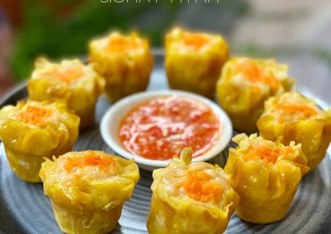 Step-by-Step Guide to Make Homemade Chicken Siew Mai