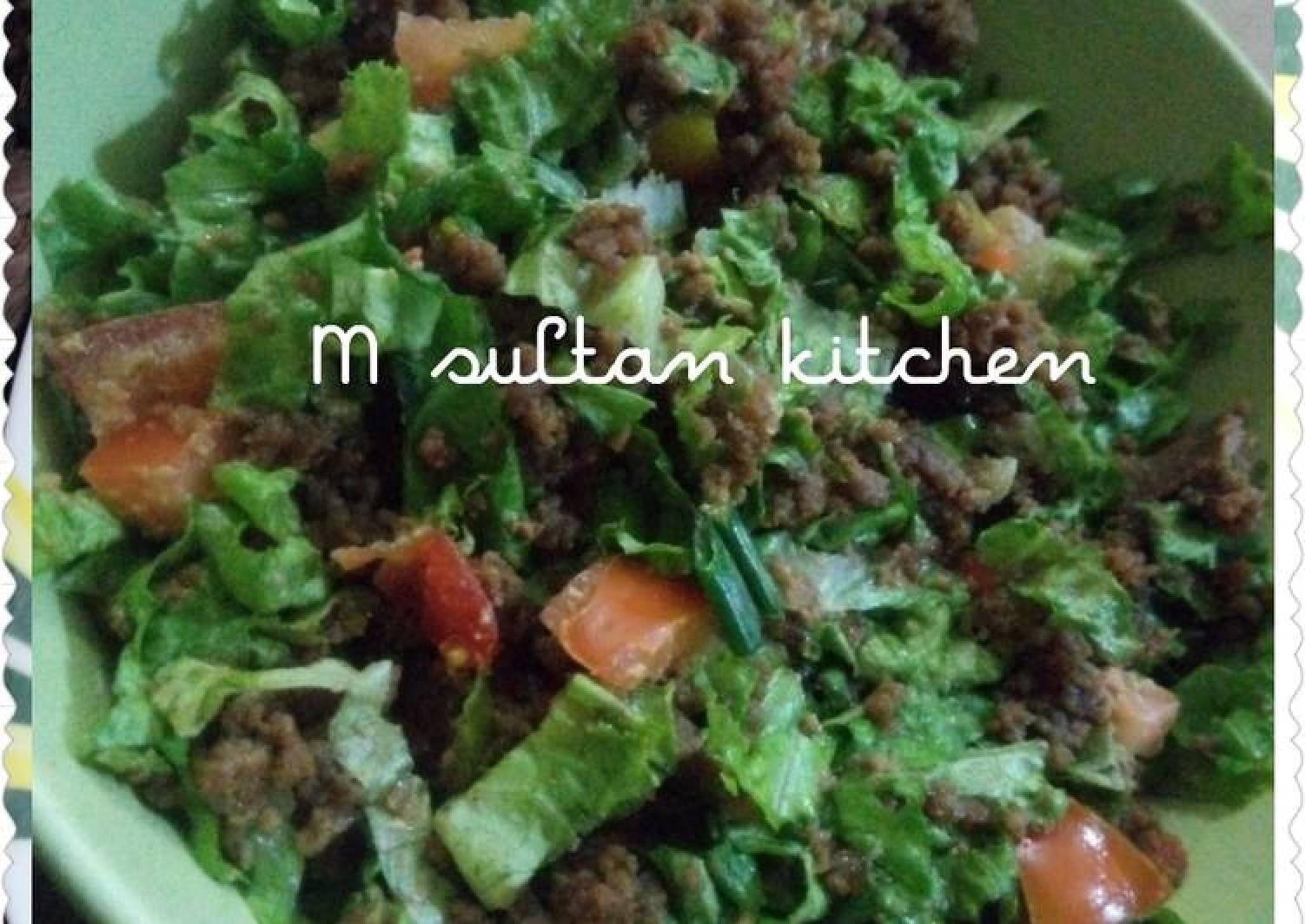 Kwadon lettuce da kuli