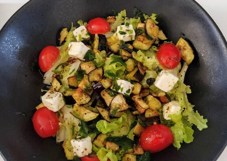 Salade d'aubergine