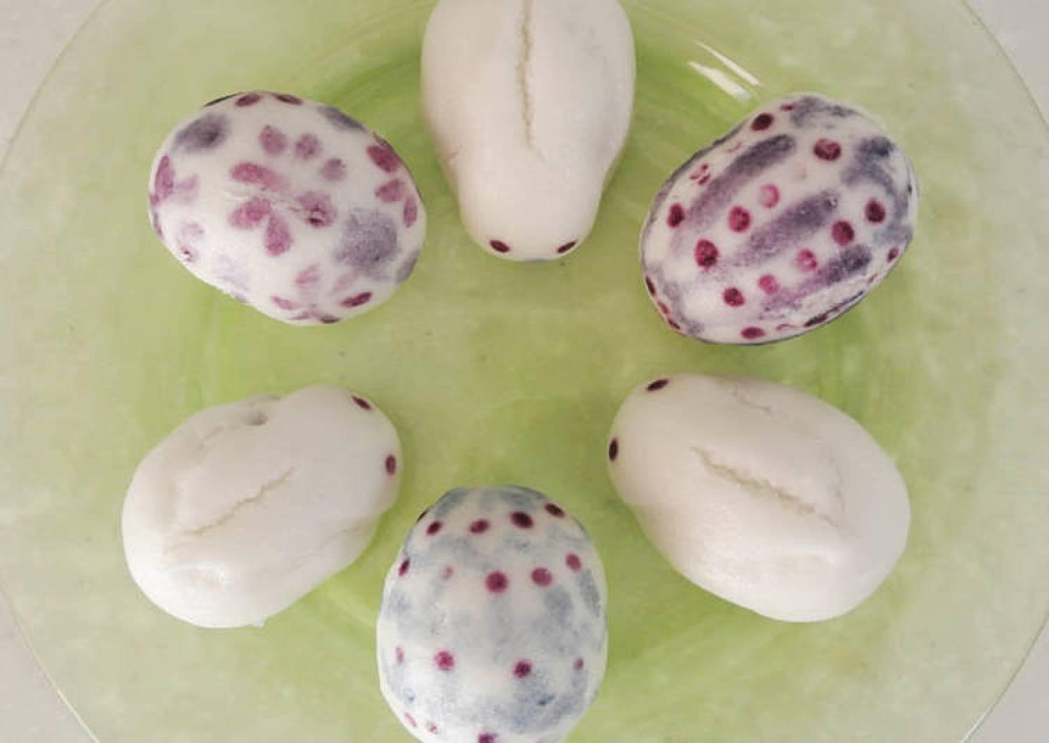 Easter Rabbits and Eggs- Jouyo Manju (Wagashi)