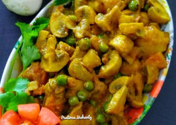Chhatu Besara(Mushroom with Mustard Paste)