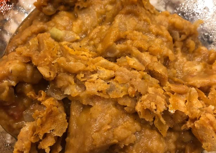 Misr wot (Ethiopian red lentil stew - vegan)