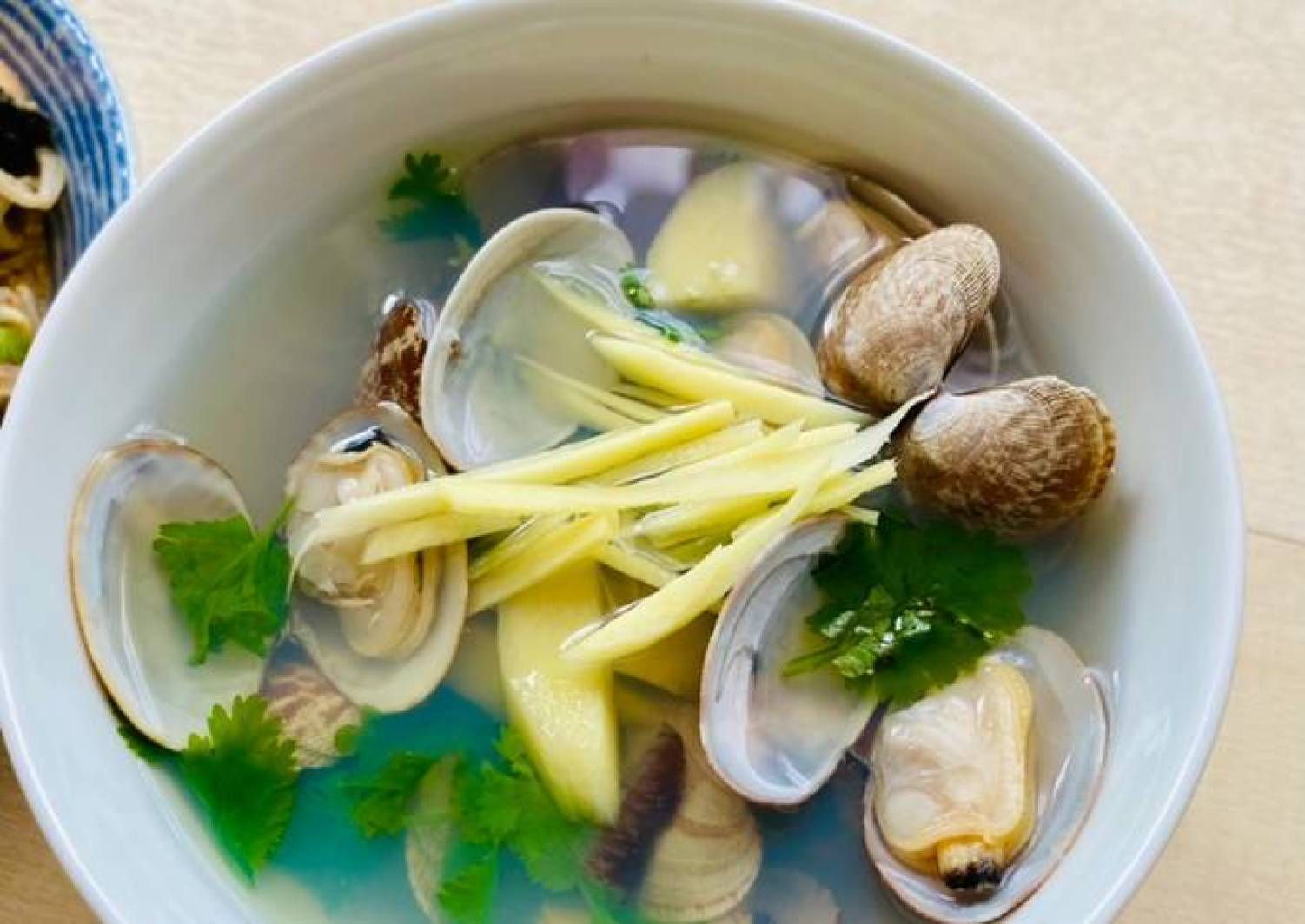 Easiest Way to Make Quick Clam Soup with Ginger and
