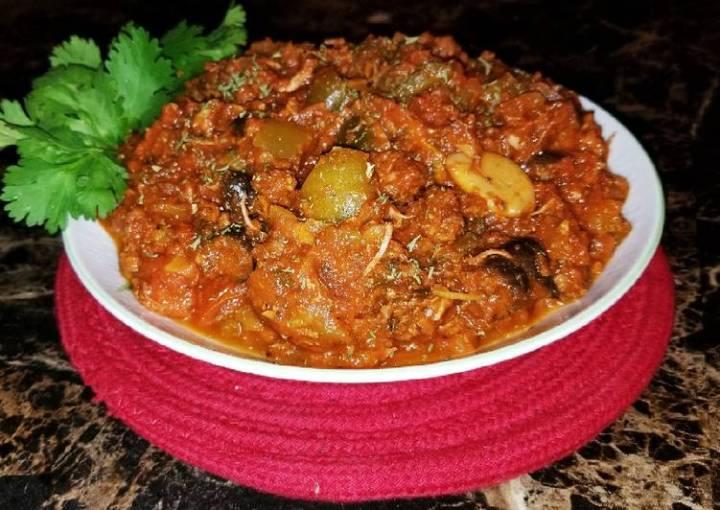 Mike's Meaty Mexican Marinara Sauce