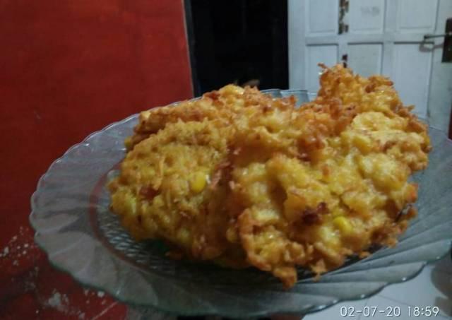 Bakwan jagung wortel crispy