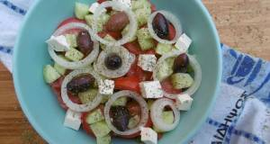 Traditional Greek Salad Choriatiki Salata